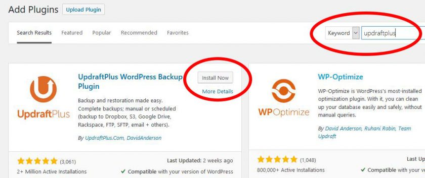 Backup WordPress Site Using Updraftplus Tips and Tricks
