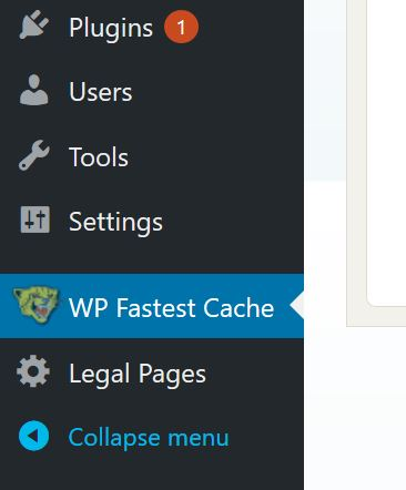 Wp-Fastest-Cache-Tutorial-Step-2