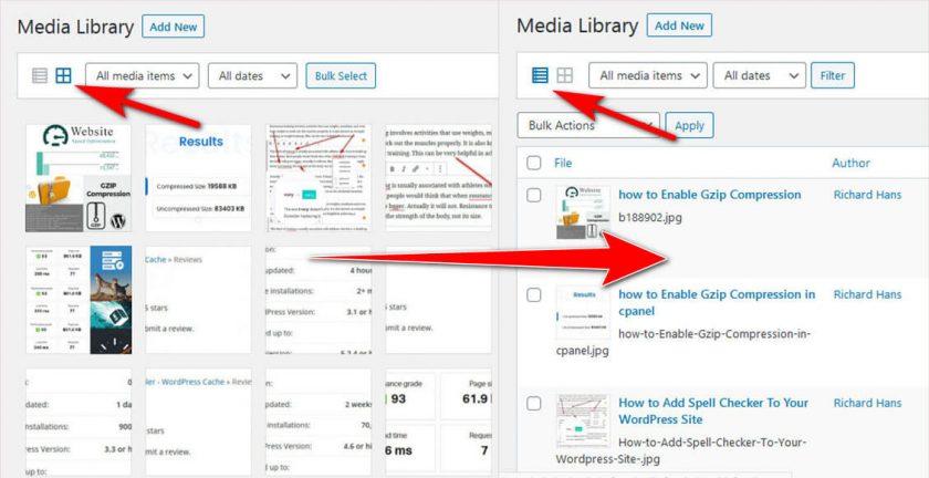 Steps To Rename Existing Media Files In WordPress 5