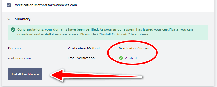 Free ssl certificate for wordpress - SSL Setup 11 - Install SSL