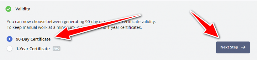 Free ssl certificate for wordpress - SSL Setup 2 - PRO AND FREE SSL Validity