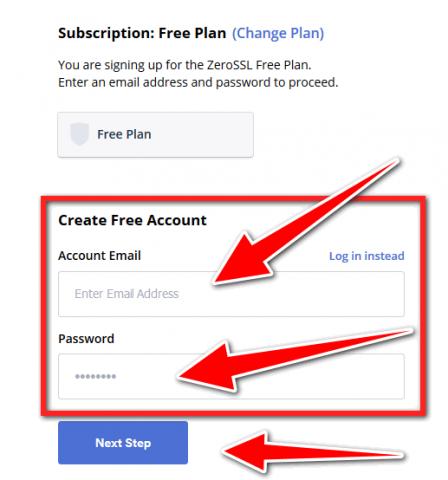 Free ssl certificate for wordpress - Zerossl free ss plan