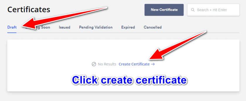 Get a free ssl certificate - SSL Creation