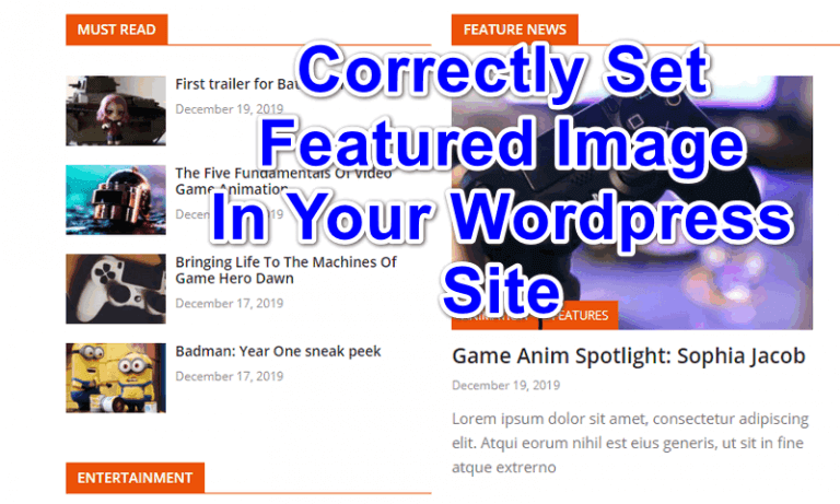 How To Properly Set Featured Image Size In WordPress